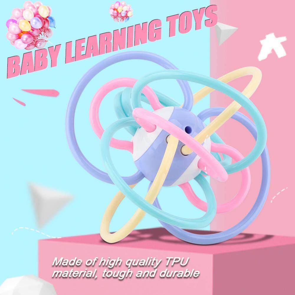 Bayi Tangan Goyang Bel Dering Mainan Bayi Bergemerincing Anak-anak Anak-anak Awal Musik Mainan untuk Membantu Anak Belajar-Intl