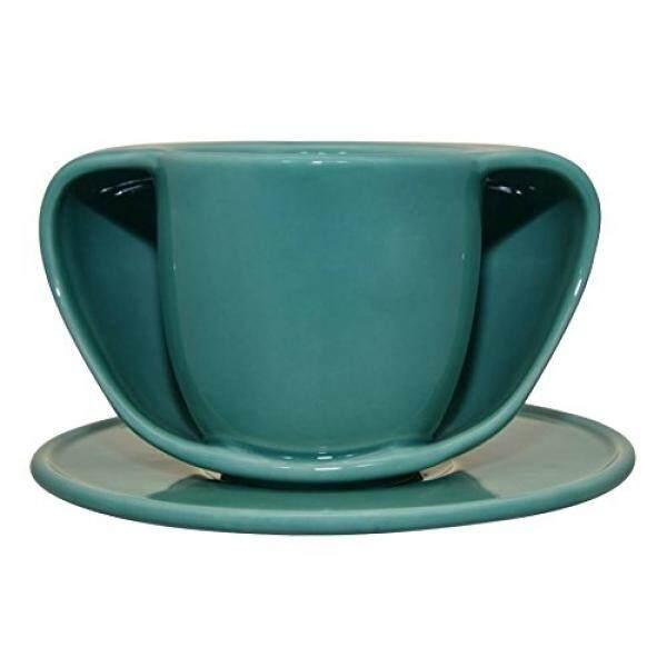 Teacups SABRINA FOSSI DESIGN MADE IN ITALY - TOASTYMUG HANDS WARMER MUG GREEN - intl