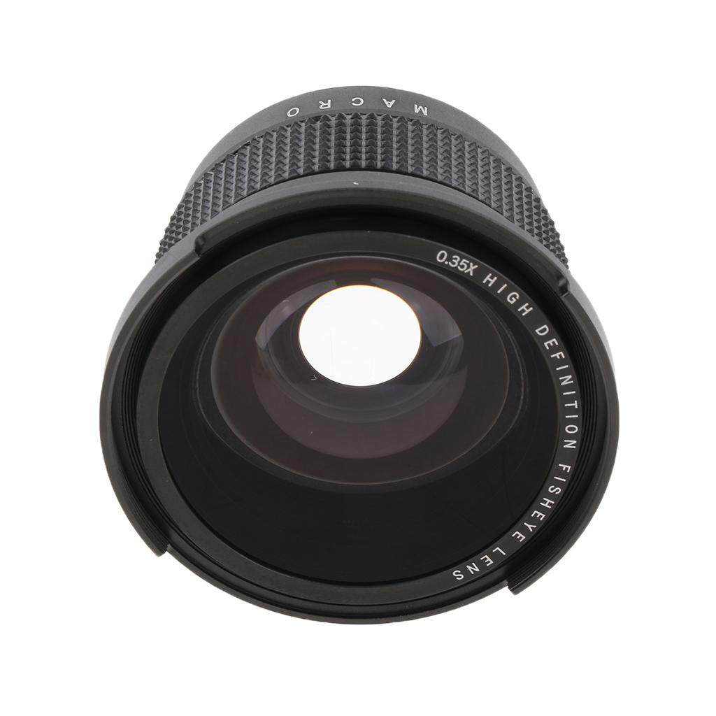 Miracle Shining 52mm 0.35X Super Wide Angle Fisheye Lens for Nikon D7100 D5200 D3300 D60 D80