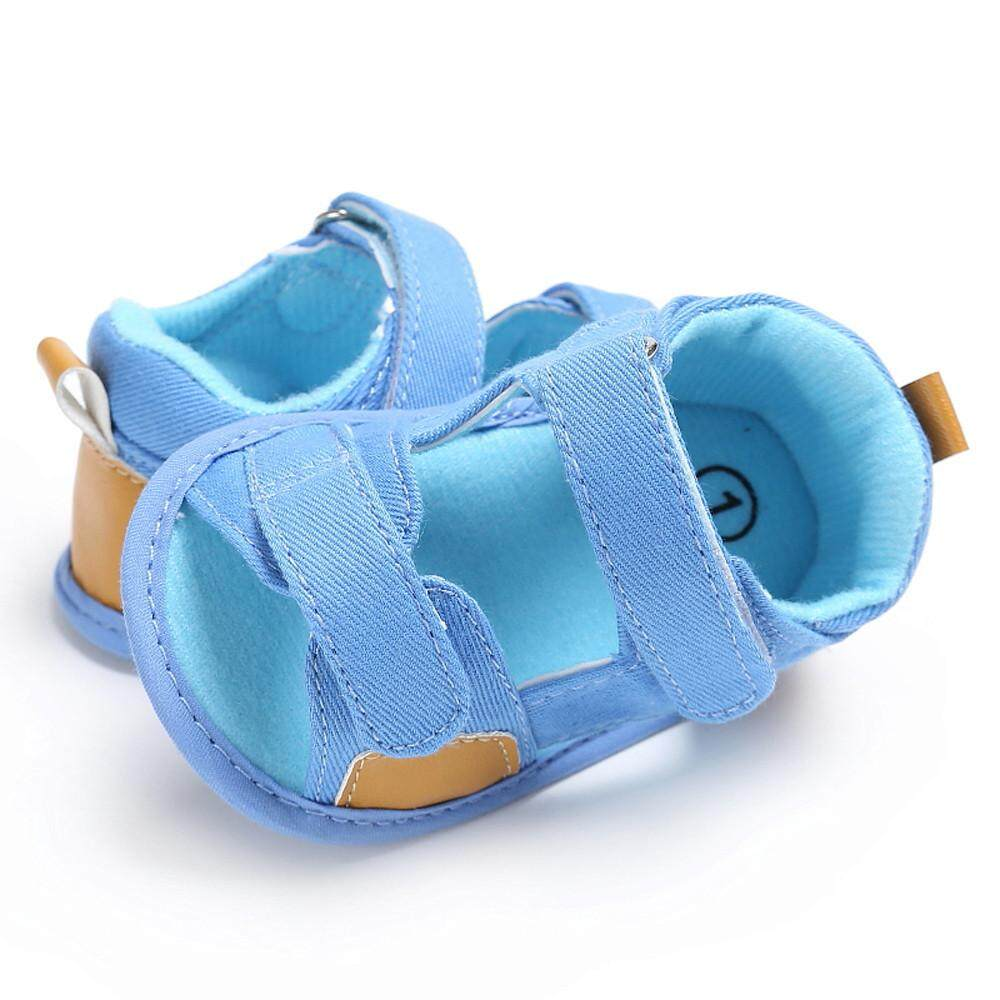 0eda79469b7b9 Baby Boys Toddler Canvas Infant Kids Girl boys Sole Crib Toddler Sandals  Shoes