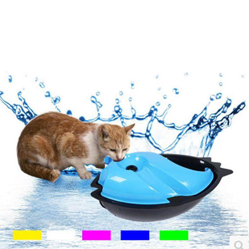 Pet Puppy Electric Automatic Circulating Drinking Fresh Running Waterer Cycle - Intl By Lightning.