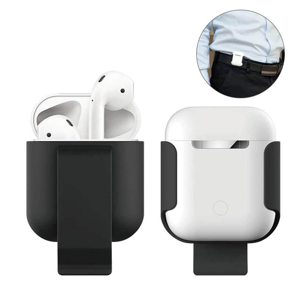 a16fb20e4da Vankel Apple AirPods Case, Ultra Slim Belt Clip Holster Shockproof  Protective Hard Shell Cover for