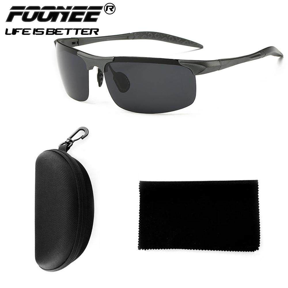 Foonee Polarized Sports Sunglasses For Men And Women Running Cycling Fishing, Mirrored Integrated Polarized Lens