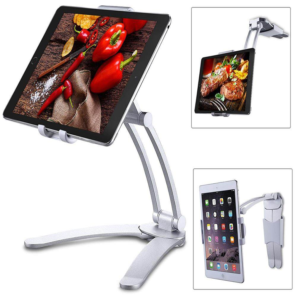 YANYI Kitchen Tablet iPad Stand Adjustable Holder Wall Mount for iPad Pro, Surface Pro, iPad Mini