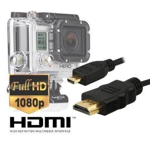 Ekstra Panjang 10 Kaki Micro HDMI HD Kabel Video untuk GoPro Hero3, Hero3 +, hero4 Edisi Hitam dan Silver Edition Camera-Versi dengan Master Kabel-Intl
