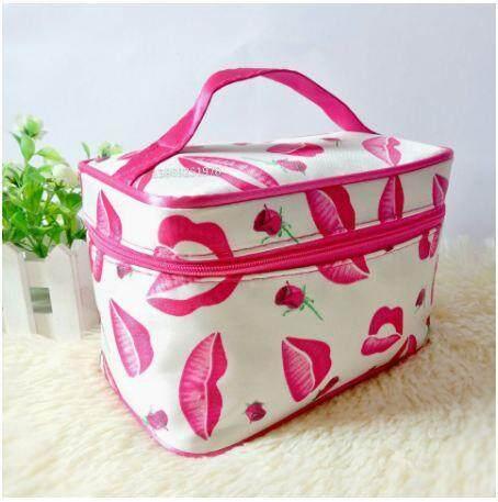Portable Romantic Cosmetic Organizer Makeup Bag Travel Toiletry Bag