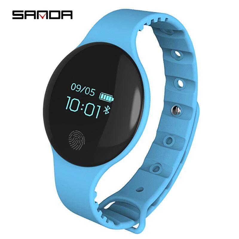 Sanda Jam Tangan Anak-anak Bluetooth Smartwatch untuk IOS Android Olahraga Pemantau Pedometer Pengingat Panggilan Jam Tangan Fitness untuk iPhone Jam