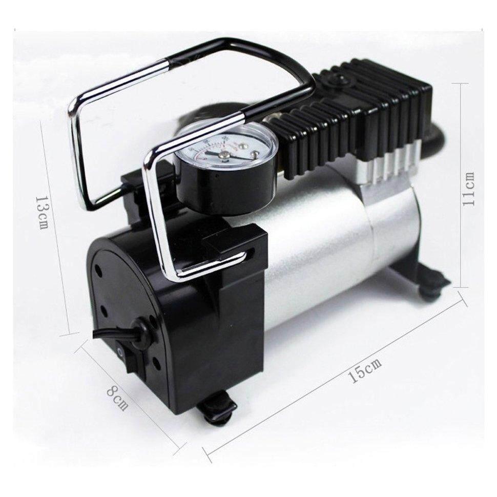 Bgd New Portable Mini Air Compressor Electric Tire Infaltor Pump 12 Volt Car 12v Psi By Blackguard.