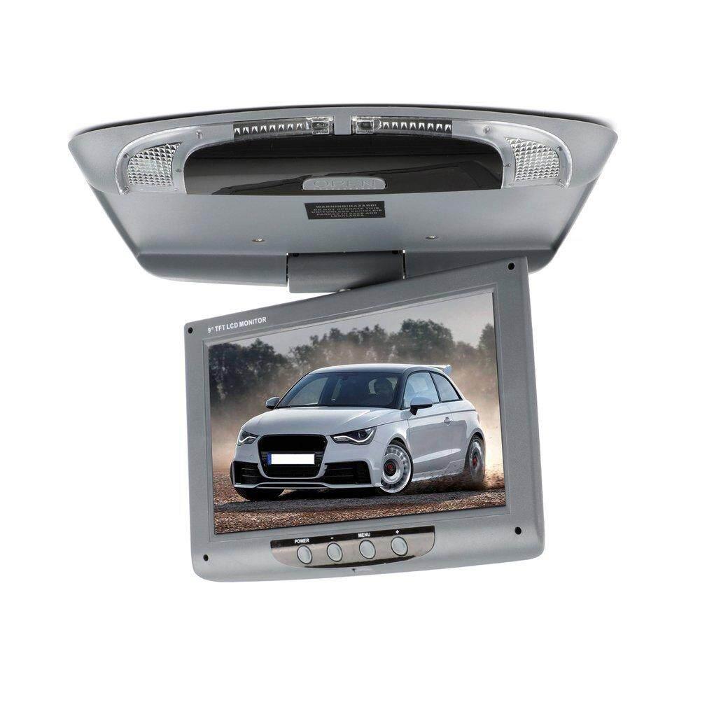Chunnuan 9 Inch 800*480 Mobil Atap Mount Monitor Warna LCD Flip Down Layar Multimedia