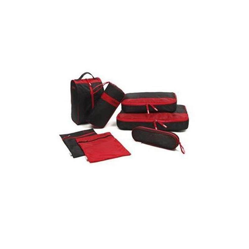 Korean Multipurpose Storage Travel Waterproof 7 Set Toiletry Bag Cloth