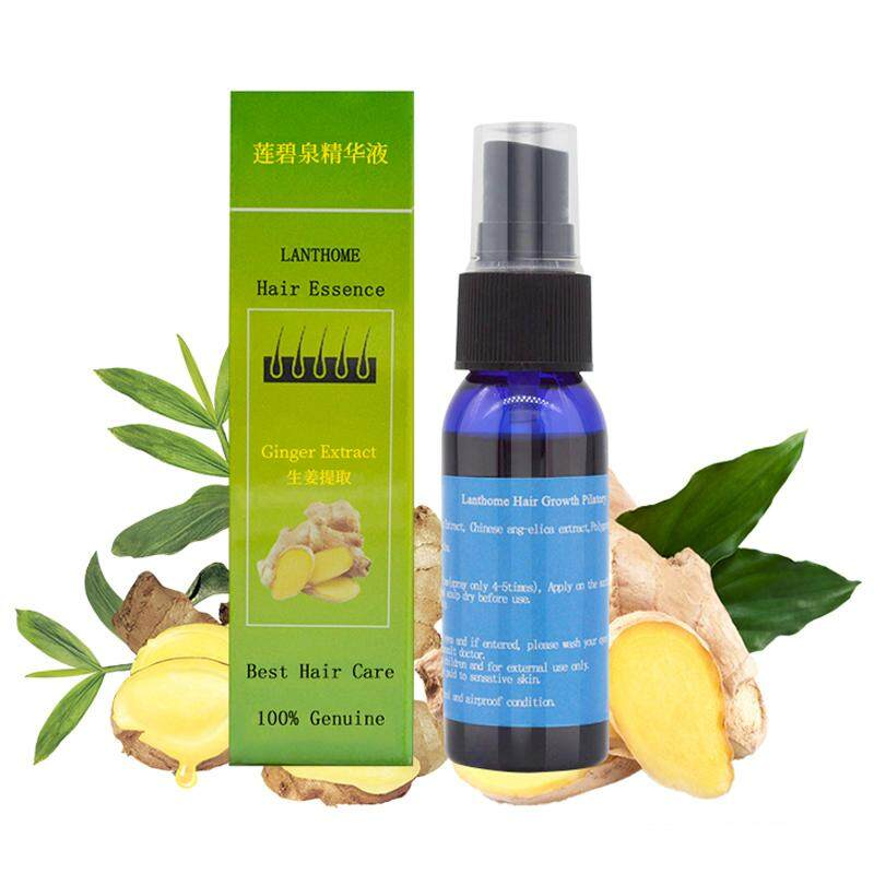 Lanthome Herbal Fast Hair Growth Essence Liquid Anti Loss Treatment Sprayer 30ml By Glimmer.