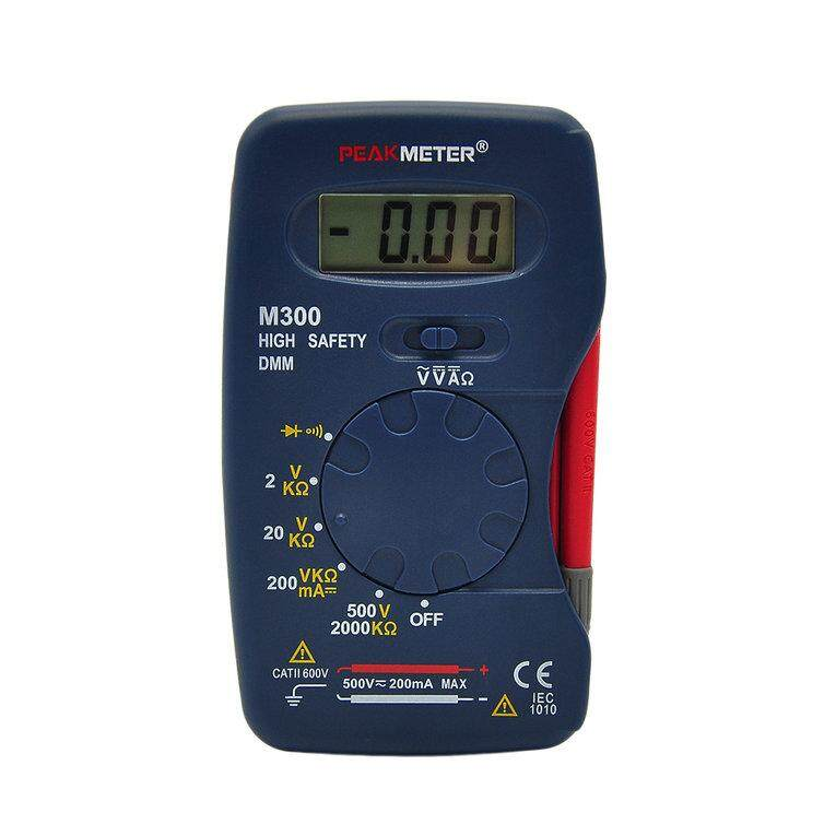 OSMAN M300 Small Size Digital multimeter Handheld DMM DC AC Ammeter Voltmeter