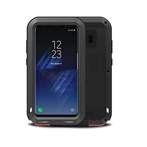 Cell Phones Cases Samsung Galaxy S8 Plus Love Mei Case, Love Mei Heavy Duty Armor Tank Extreme Shockproof Dust/Dirt Proof Aluminum Metal Case Cover for Samsung Galaxy S8 Plus (6.2inch) (Black) - intl