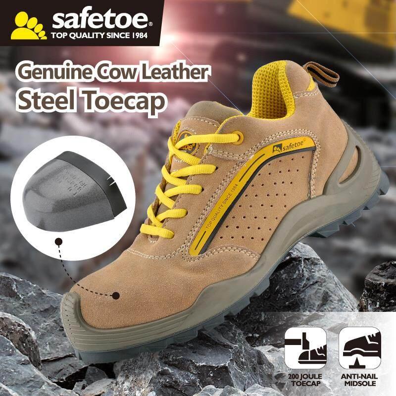 afc1589300c6 Safetoe Men Steel Toe Cap 7296 Safety Shoes Lightweight Lace Up ...