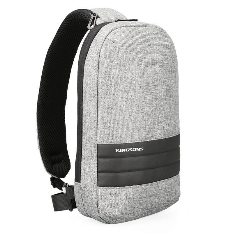7860d32446ed Kingsons KS3188W Men Chest Bag Single Shoulder Back pack Men s Crossbody Bags  Casual Messenger Small Bag