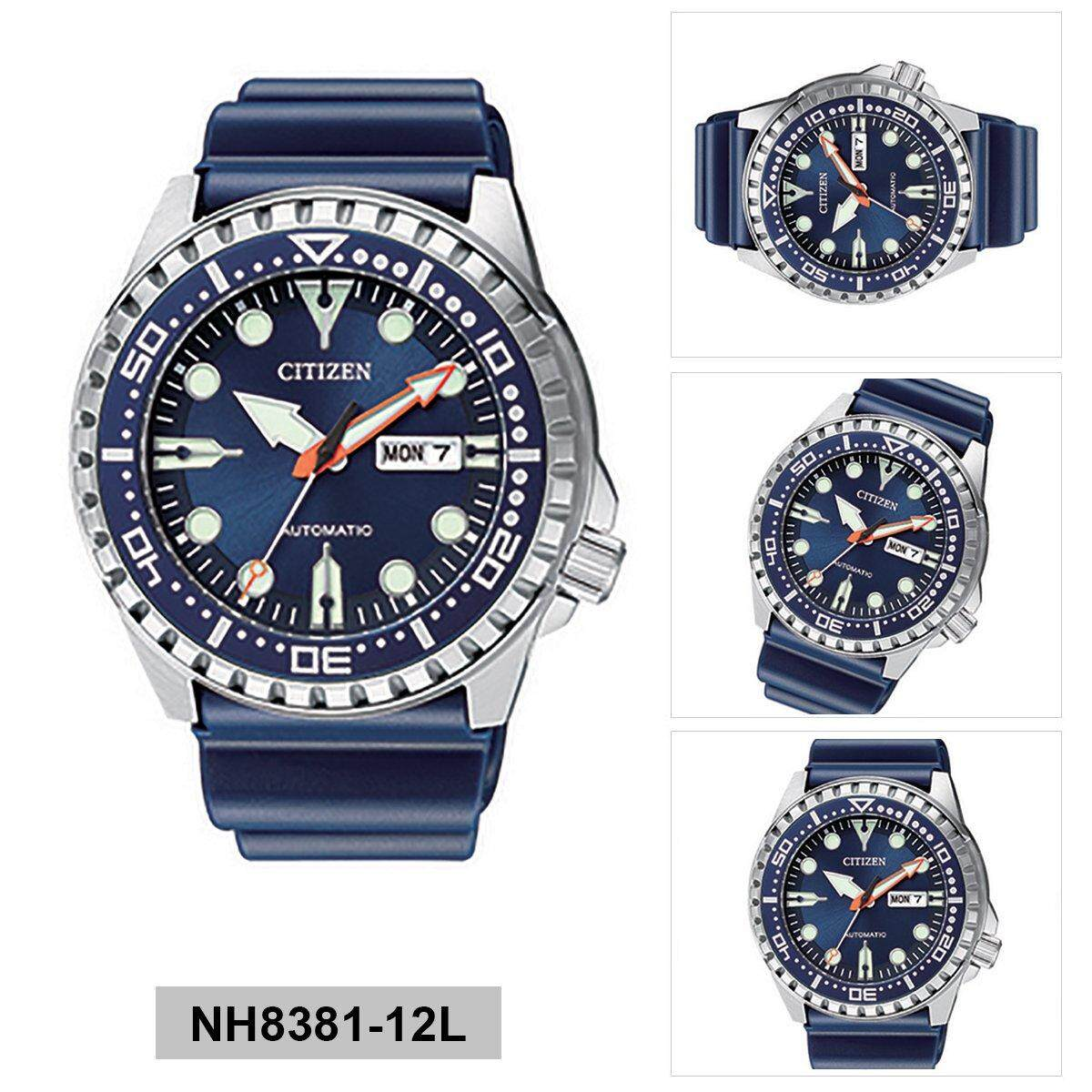 Features Citizen Mens Stainless Steel Watch Aw0050 58e Dan Harga Nh8388 81e Mechanical Blue Case Rubber Strap Nh8381 12l