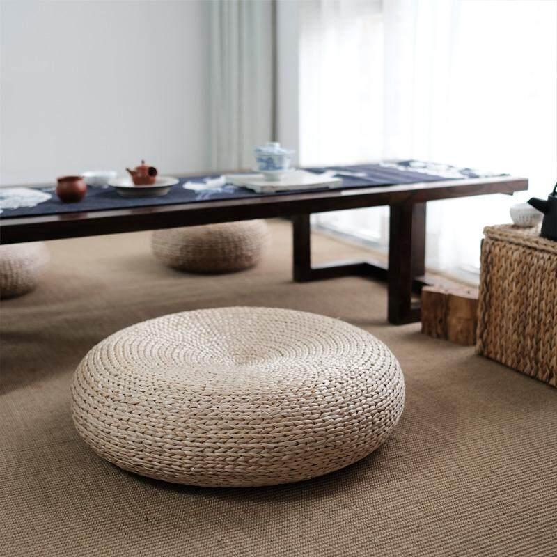 Shan Xiu Japanese straw futon cushion padded tea ceremony