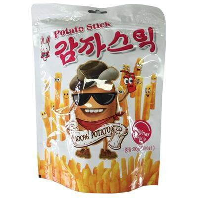 RABIT KOREAN POTATO STICK ORIGINAL FLAV 100g (Exp:24/05/20)