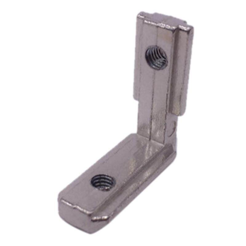 10x T-slots L-shaped internal corner connector bracket for aluminum profile 2020 series slots 6mm