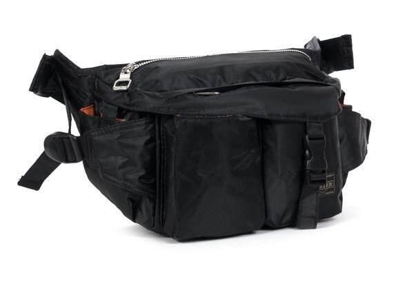 Japan Yoshida Porter Waist bag with clip shoulder bag  Waterproof nylon  6f33373fce3f2