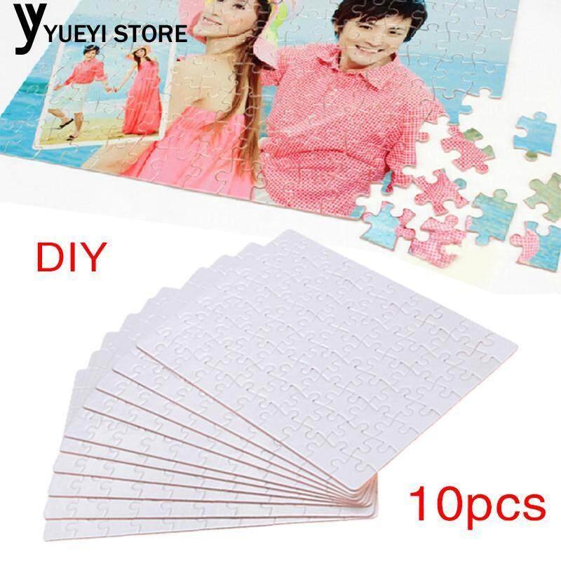 Hình ảnh YYSL DIY Paper Printable Puzzle 10pcs Heat Presses Transfer Printable