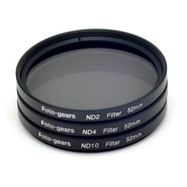 A Foto-gears Mesen New Professional 52mm Neutral Density Filter Set (Nd2 Nd4 Nd10 Filter Set ) for Sigma,olympus,panasonic,tokina,tamron,leica Pentax, Fujufilm, Sigma, Canon, Nikon D3100, D3200, D5100, D5200, Ef-s 18-55mm F/3.5-5.6 Is STM , Ef 55-200