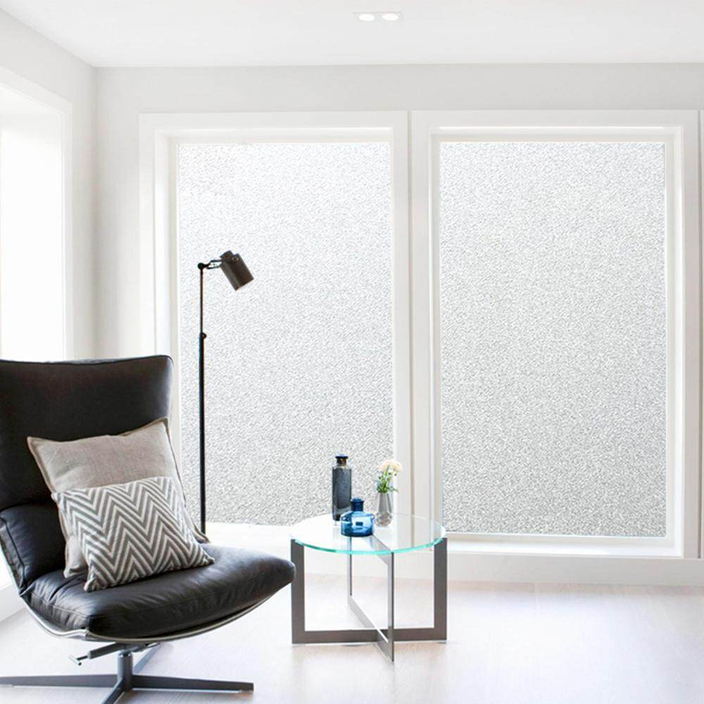 60*200cm No Glue Static Cling Glass Window Film Privacy Frosted Opaque Window Decor Home/office Decor Removable Reusable By Dicor Official Store.
