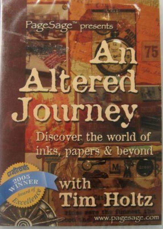 Tim Holtz An Altered Journey DVD Malaysia