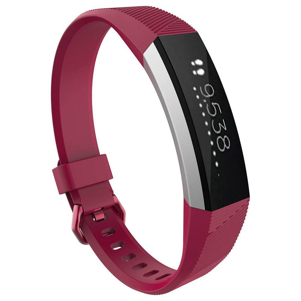 Pawaca For Fitbit Alta / Alta HR Bands, Soft TPE Zinc Alloy Buckle Colorful Replacement