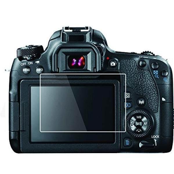 Foto & Tech 2 Sets HD Yang Jernih LCD-Displayschutzfolie F? R Canon EOS Rebel T7i, 800D, Ciuman X9i, 77D, 9000D Kamera Monitor LCD Gelembung Gratis, mehrschichtige Schmier Beschichtung/Einfach Anzubringen-Intl