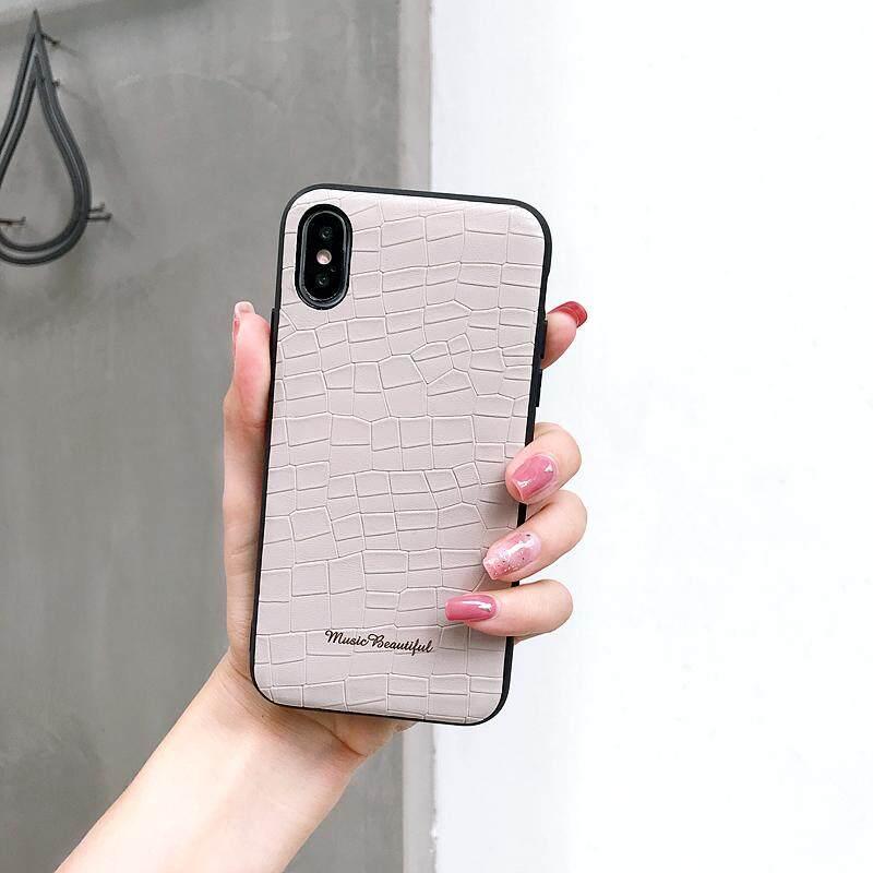 YC untuk iPhone 7/8 Plus Indah Batu PC Pola + TPU Anti Gores Penutup Pelindung Casing Belakang Spesifikasi: Iphone 7/8 PLUS