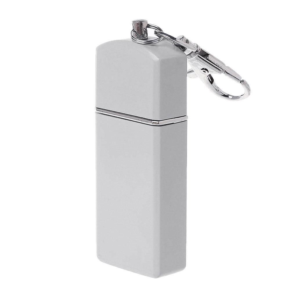 Portable Mini Pocket Ashtray Windproof Cases Key-Chain Outdoor Smoking Accessory By Yiyiya-Baby.