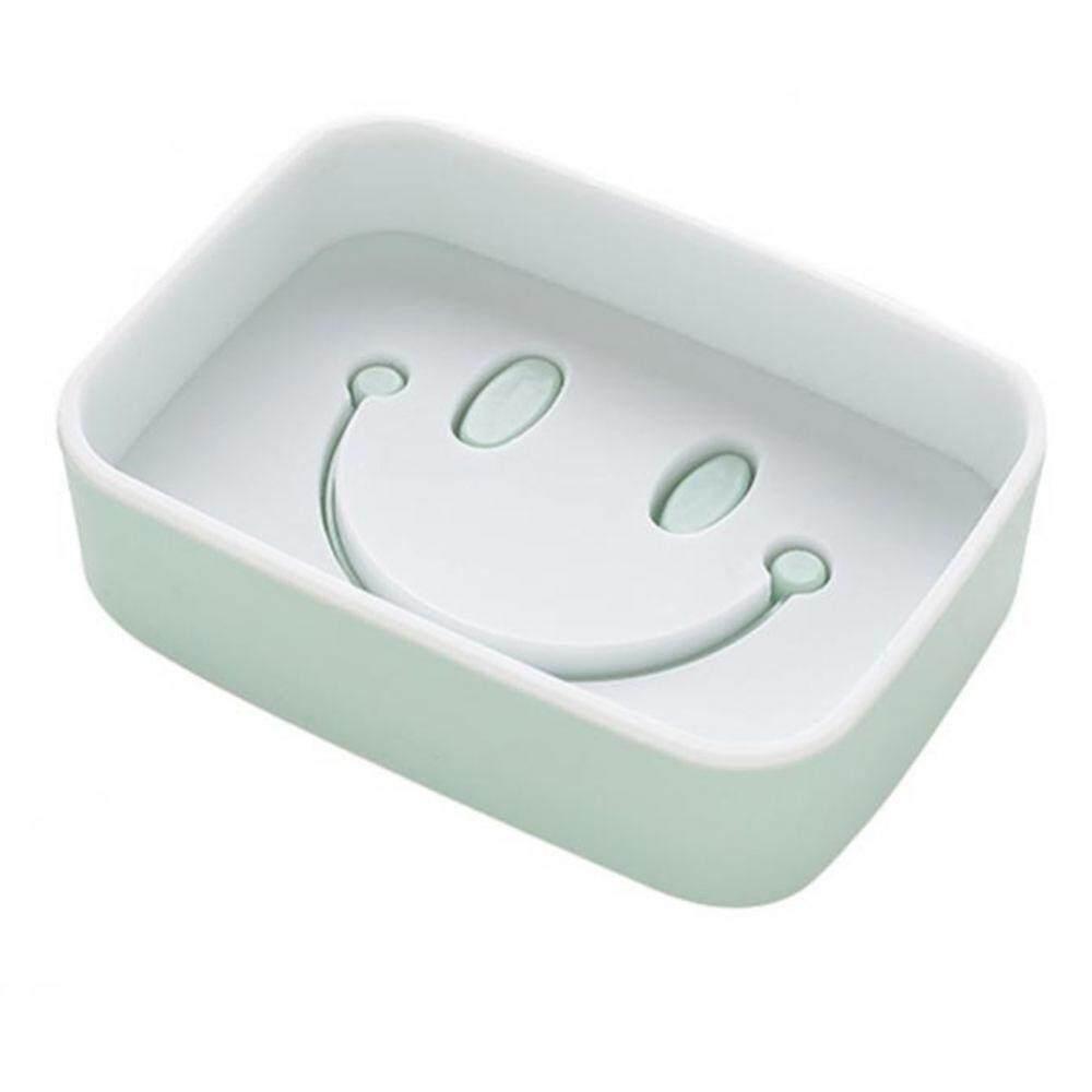 Plastic Adhesive Soap Dish Rack Detachable Double Layer Bathroom Soap Organizer