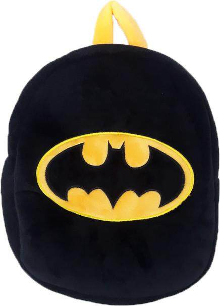Justice League Batman Logo Plush Backpack