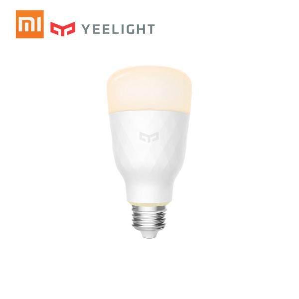 Xiaomi Yeelight Smart Bulb Colorful 800 lumens 10W E27 Lemon Smart Bulb Lamp For Mi Home App (Update Version) 220V-240V 50/60Hz White Version