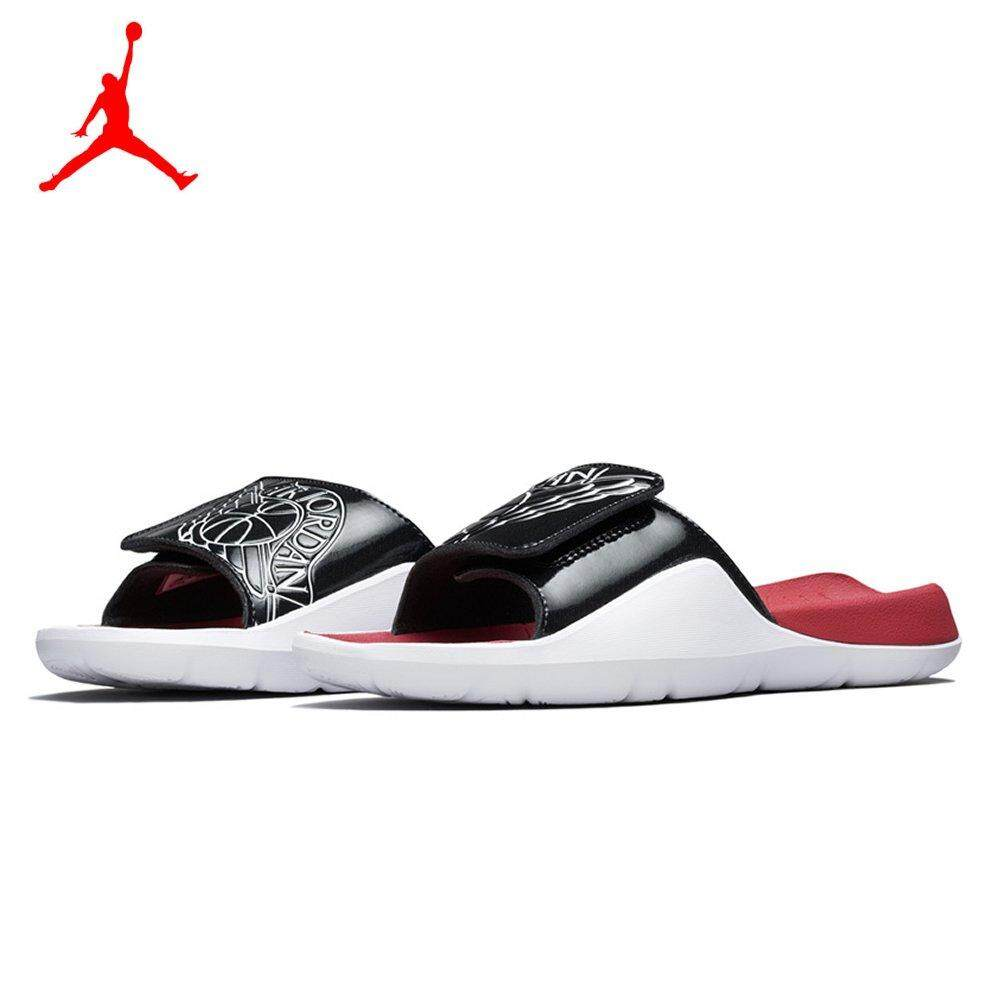 64835617d493 Jordan 2018 New Men s Hydro 7 Slide AA2517-001 Sandals Black White Gym