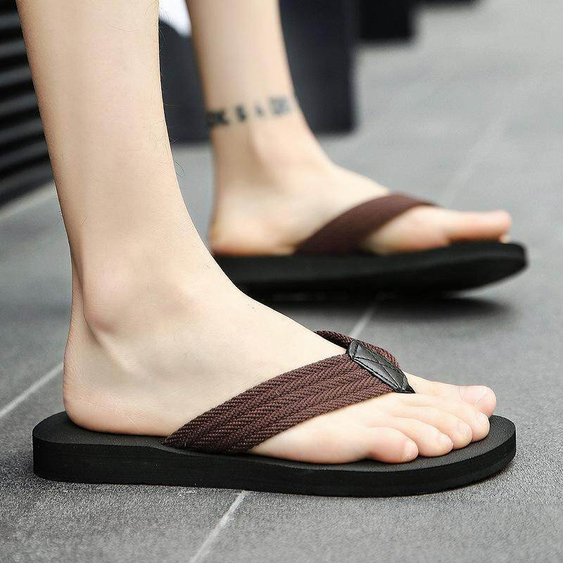 d5de522c0ed346 Hot Recommend Summer men's slippers beach shoes casual sandals Antiskid  trendy lightweight Breathable and comfortable