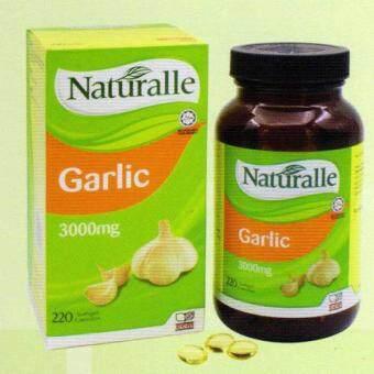 (Original) Naturalle Garlic Oil 3000mg 220's Softgel