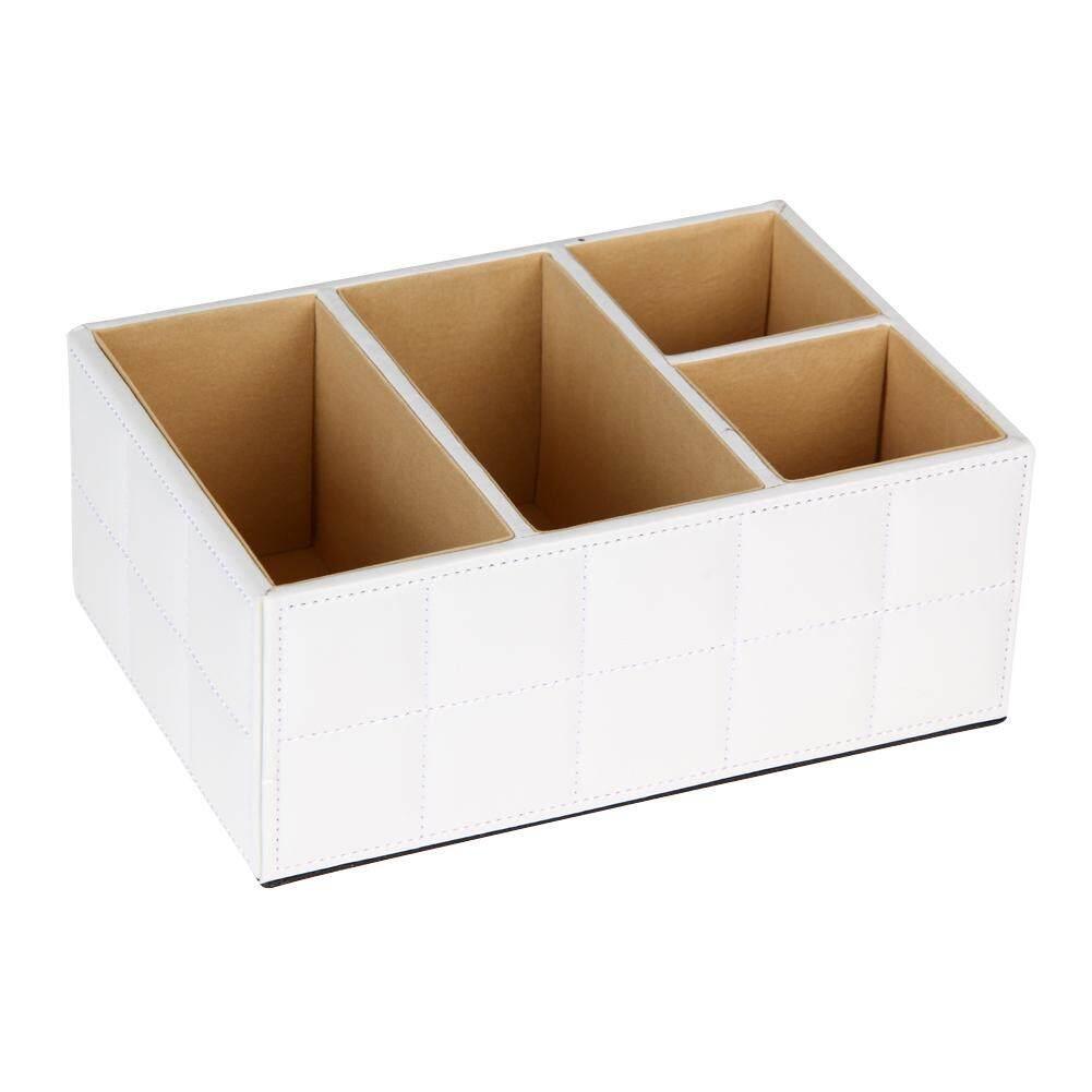 PU Leather Home Organizer Storage Boxes