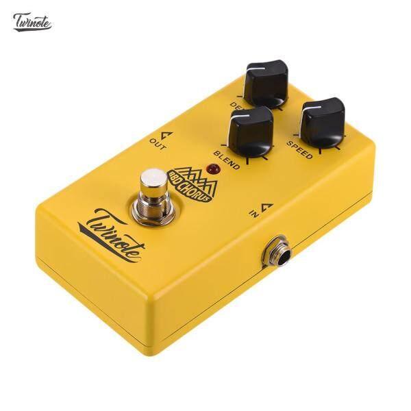 【Hot Sale】Twinote BBD Điệp Khúc Hợp Xướng Công Nghệ Analog Bàn Đạp Hiệu Ứng Guitar Processsor Vỏ Kim Loại Nguyên Khối Với Chức Năng True Bypass