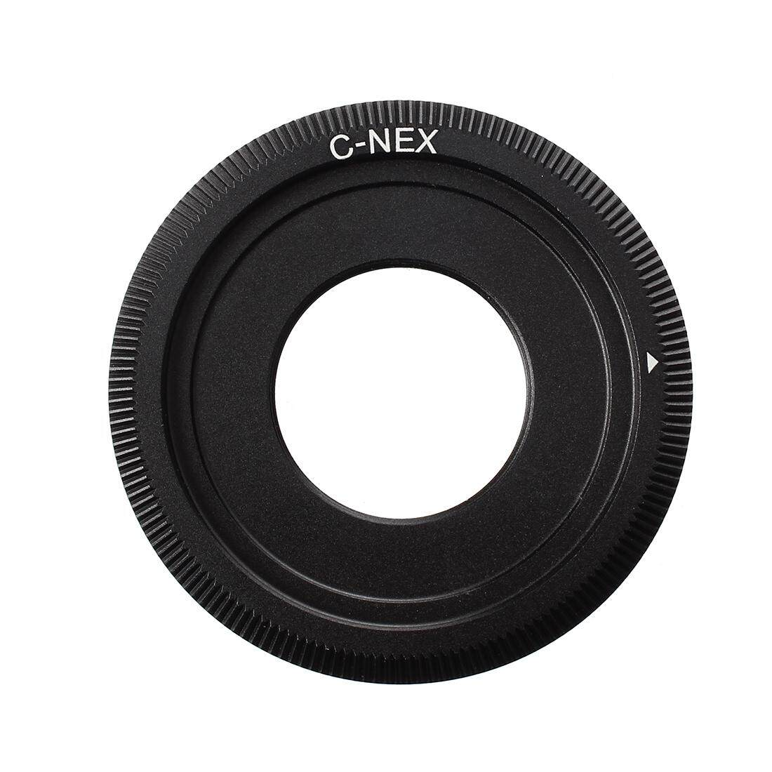 C Mount Lens Adapter Black for SONY NEX-5 NEX-3 NEX-VG10