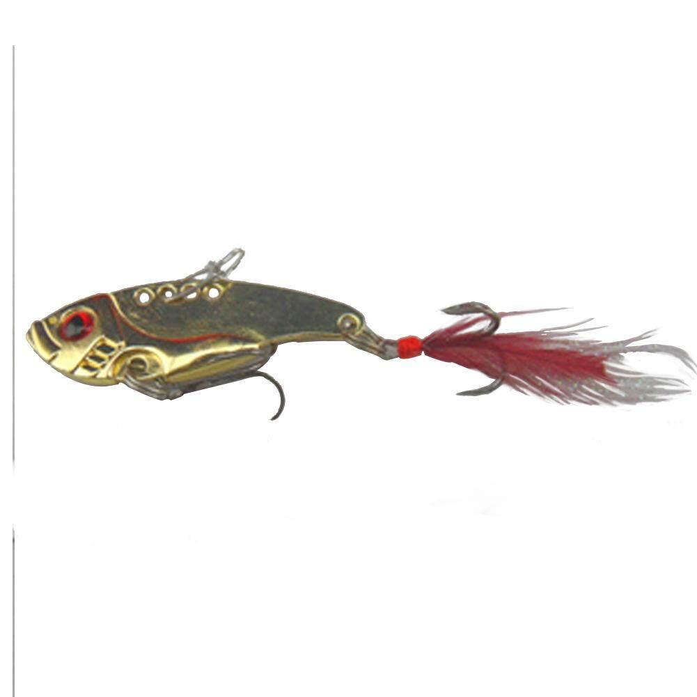 Elife Buatan Ikan Kecil Kepala Timah Pemikat Umpan Alat Memancing-Intl