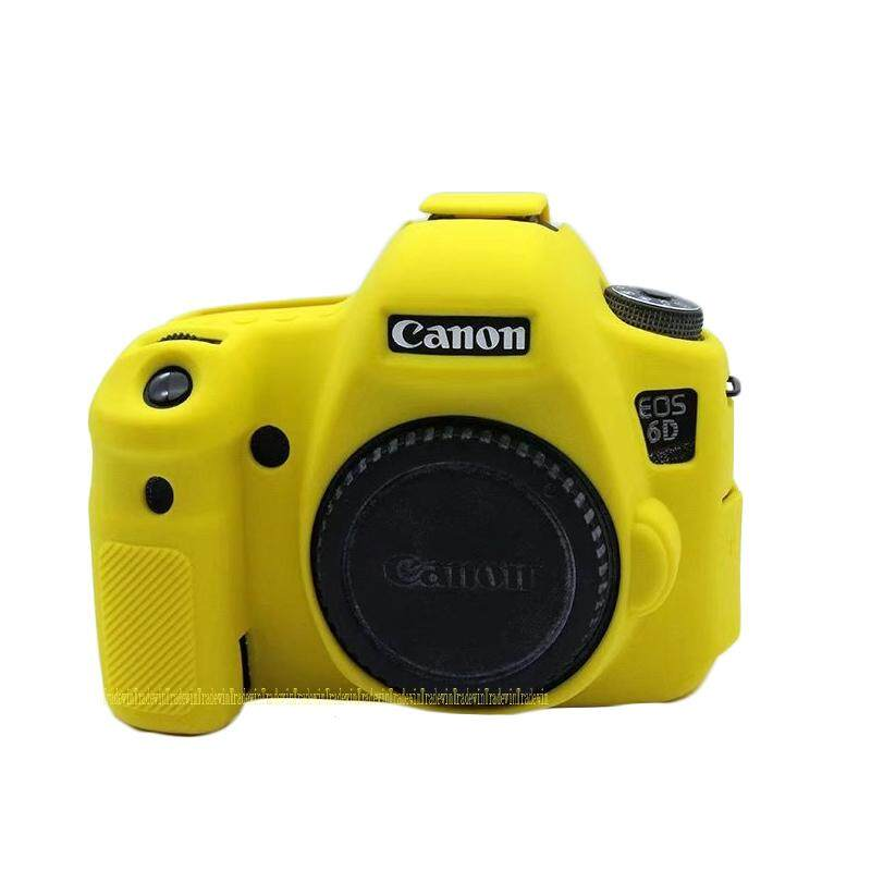 Soft Silicone Rubber Camera Body Case Cover For Canon EOS 6D