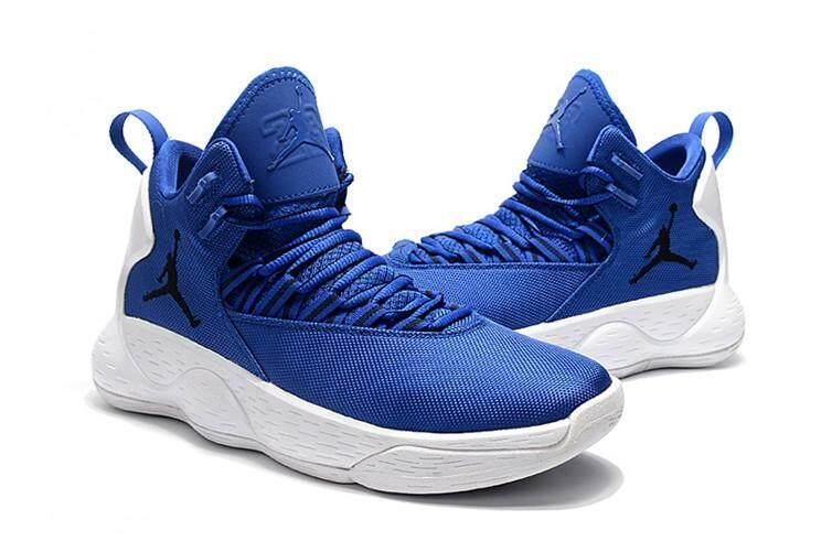 innovative design e6718 0dfe7 Nike Original Michael Jordan Super.Fly MVP MEN Basketaball Shoe Blue White  Sneakers MJ AJ