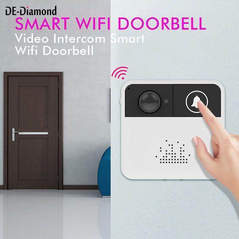 De Wireless Doorbell Wifi Security Door Chime Bell Phone Remote Control