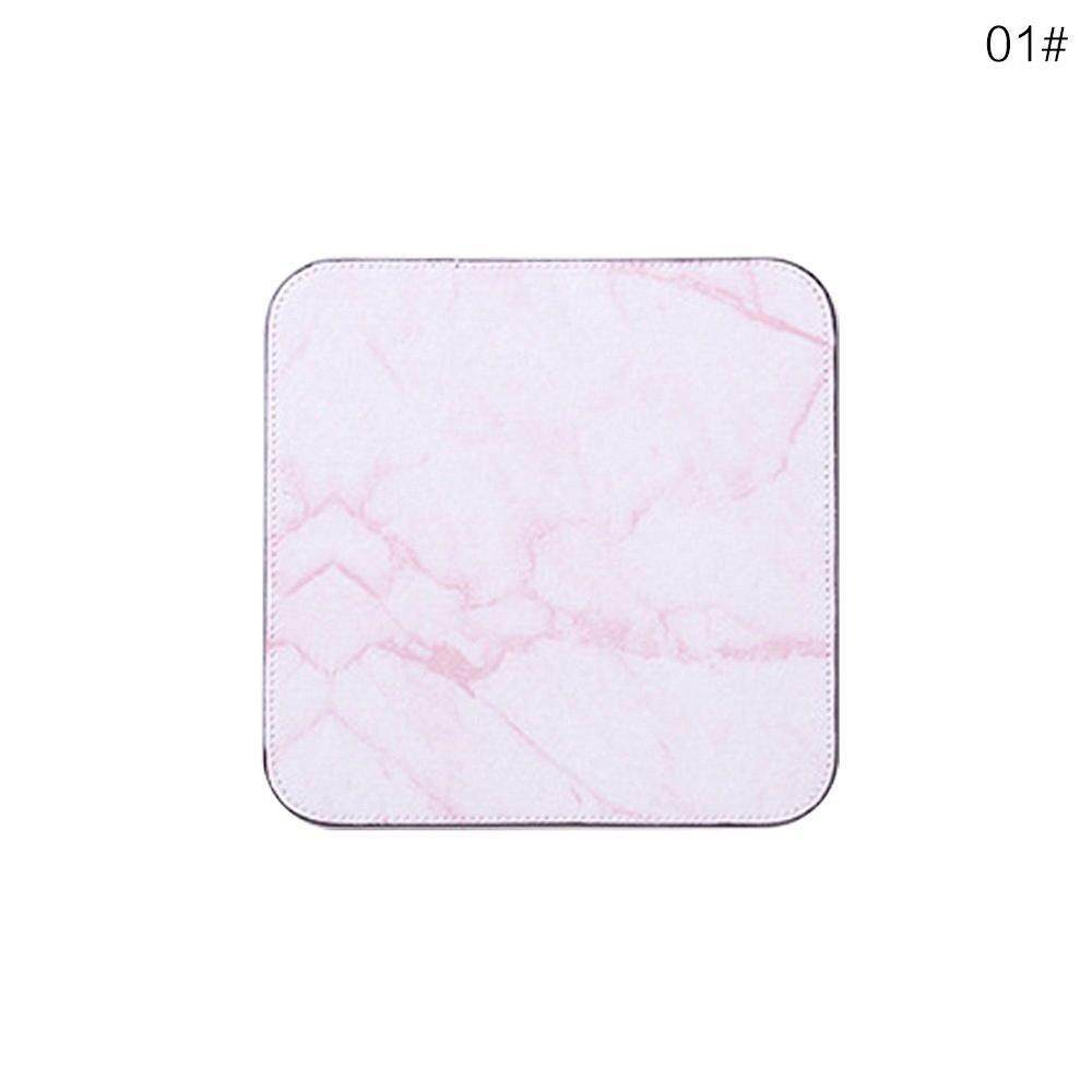 Yuchen 20*20 Marble Mouse Pad Cute Cartoon Student Thickening Game Computer Notebook Mat - Pink 01# Malaysia