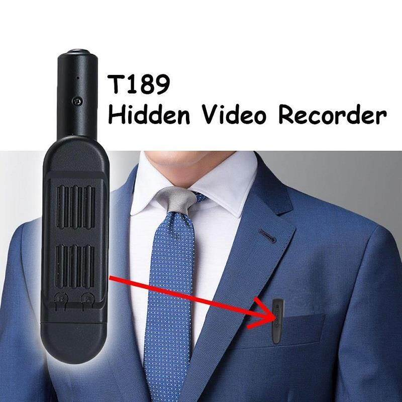 HD1080P Spy Pen Camera Hidden Meeting Pen Mini DV Camcorder T189
