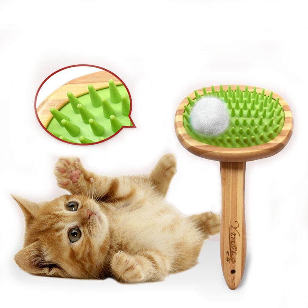 Af Pet Brush Dog Cat Silicone Massage Comb Beauty Cleaning Brush Airbag Comb For Pet Bathing Cleaning Supplies By Aote Fashion.