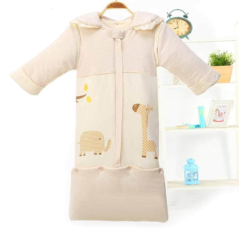 Hình ảnh lagobuy 100cm Newborn Infant Winter Cotton Thicken Sleeping Bag Baby Bedding Accessories - intl