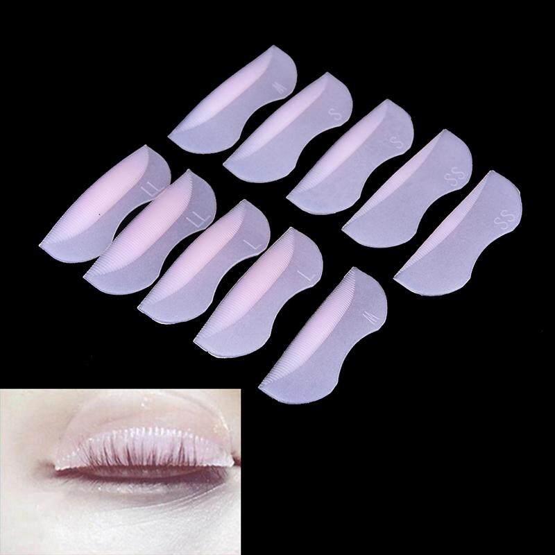 10pcs Silicone Eyelash Perming Curler Curling False Fake Eye Lashes Shield Pad Philippines
